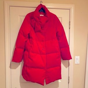 Kate Spade puffer coat with bow